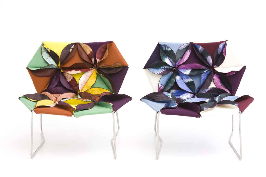 Antibodi armchair by Patricia Urquiola and Moroso - How to give life to your interior with floral pattern?   Aliz's Wonderland