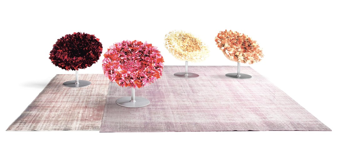 Bouquet by Tokujin Yoshioka designed for Moroso - How to give life to your interior with floral pattern? | Aliz's Wonderland