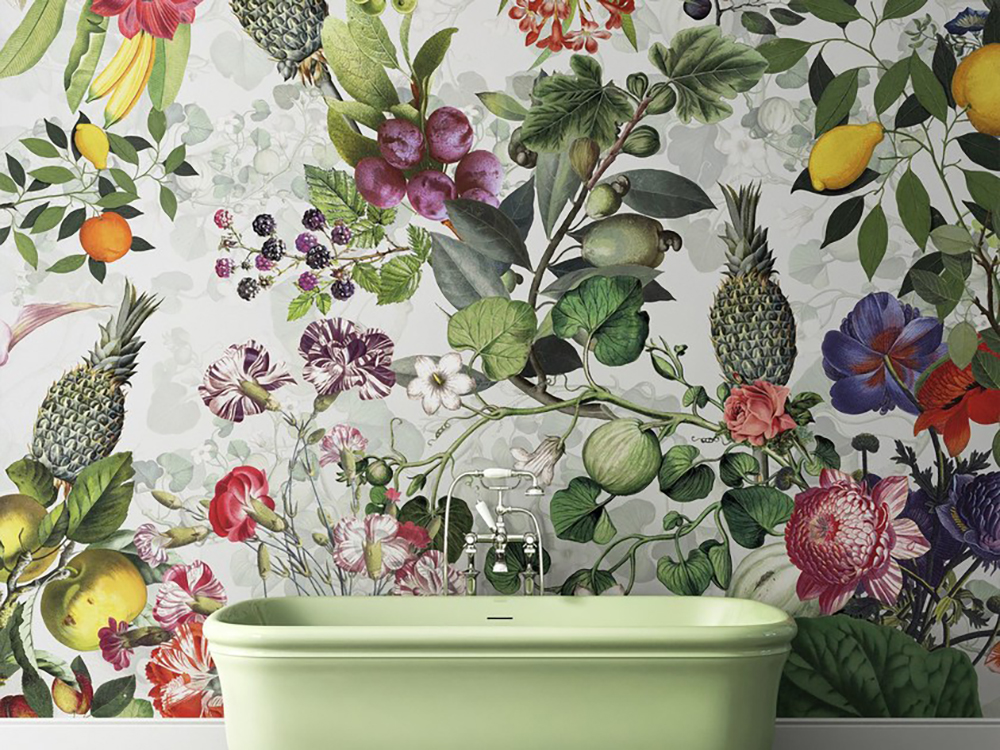 Devon&Devon Botanica wallpaper by Vito Nesta - How to give life to your interior with floral pattern? | Aliz's Wonderland