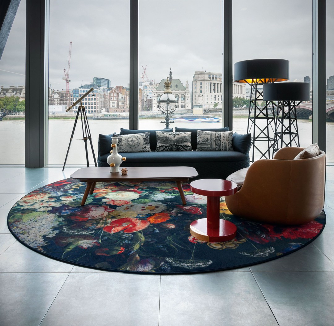Eden queen floral rug by Marcel Wanders Moooi - How to give life to your interior with floral pattern? | Aliz's Wonderland