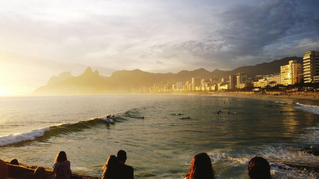 View from Praia do Arpoador: Praia de Ipanema and Praia do Leblon - Best beaches in Rio de Janeiro | Aliz's Wonderland