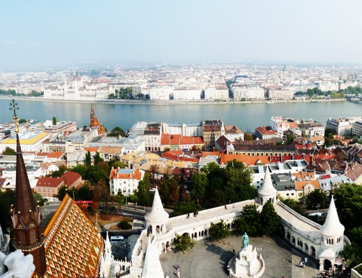 Panorama from Matthias Church Tower, Castle District - Top 5 viewpoints in Budapest Hungary, recommended by a local | Aliz's Wonderland
