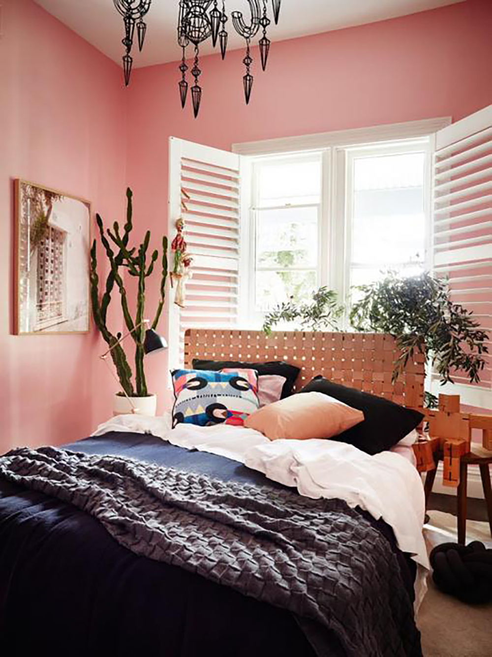 Aleha Rose pink bedroom by Haymes paint - Warm up your home with pink wall colour | Aliz's Wonderland