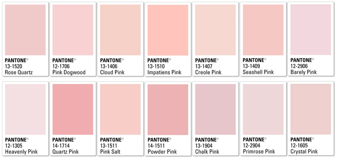 Pantone's millennial pink palette - Warm up your home with pink wall colour | Aliz's Wonderland