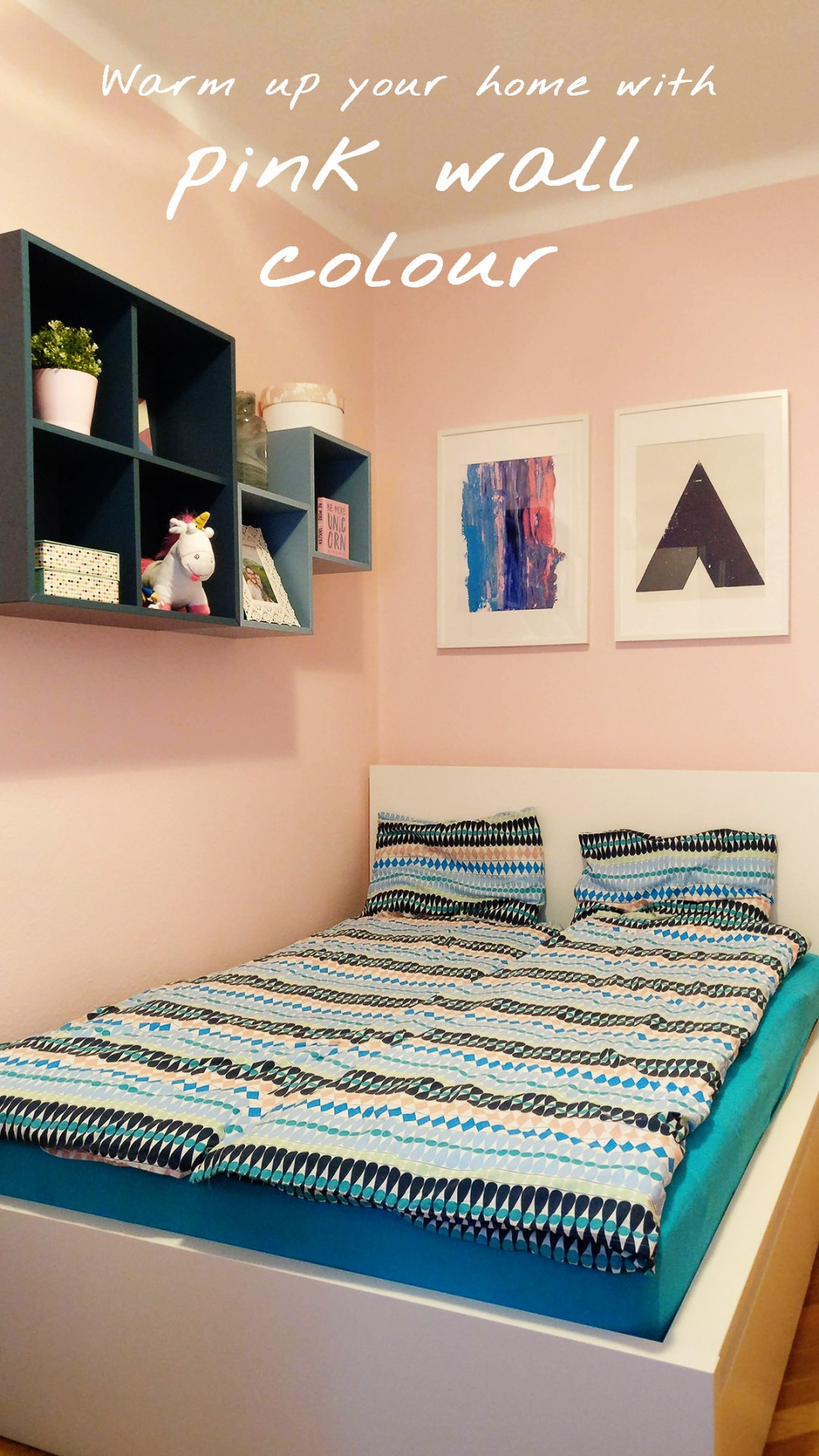 Warm up your home with pink wall colour | Aliz's Wonderland