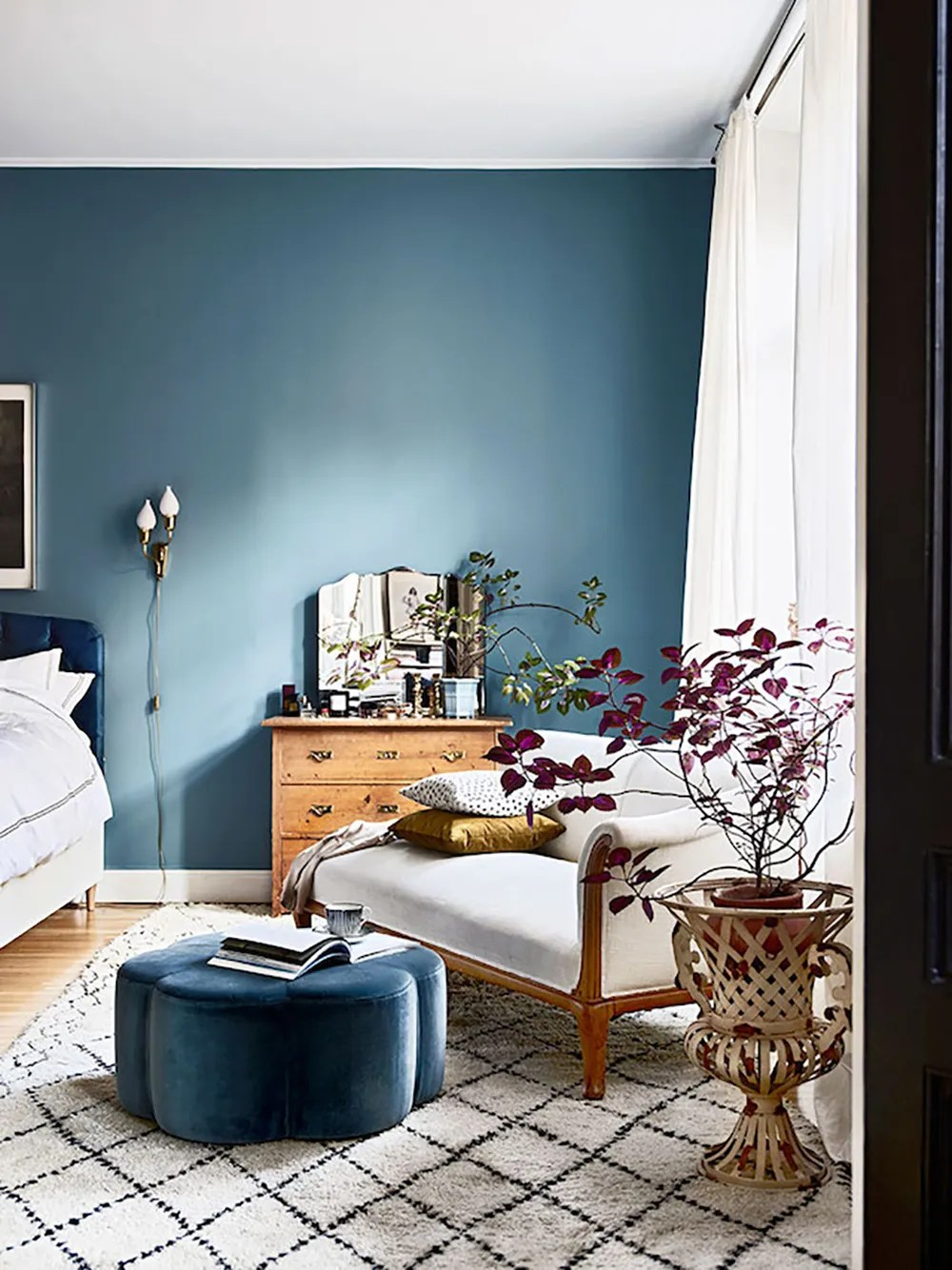 Blue bedroom - 35 ideas for blue wall colour in home decoration | Aliz's Wonderland