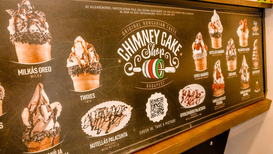 Chimney Cake Shop Budapest - A local's guide to the best chimney cakes in Budapest, Hungary | Aliz's Wonderland