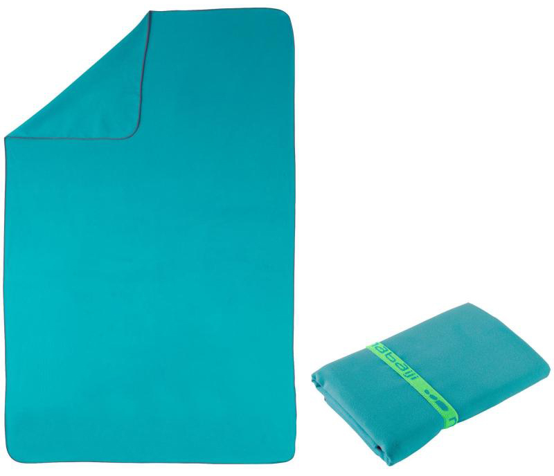 Microfibre towel from Decathlon - Useful gift ideas for travel lovers | Aliz's Wonderland