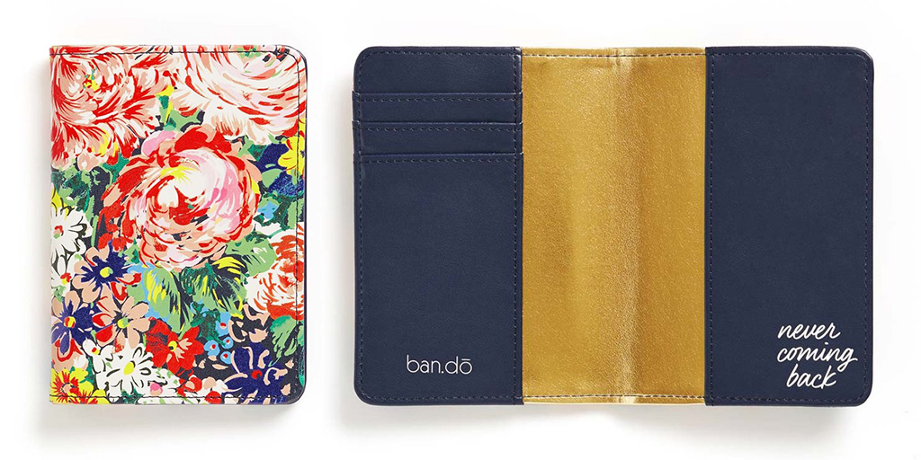 Passport holder by ban.do - Useful gift ideas for travel lovers | Aliz's Wonderland