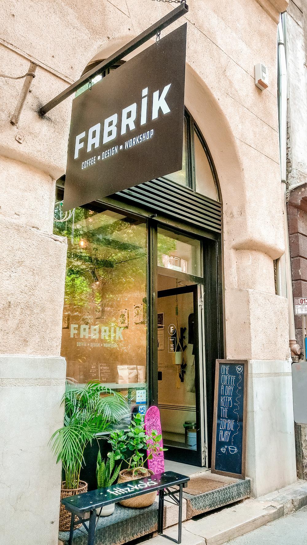 Fabrik Specialty Coffee - Design - Workshop - Budapest's best breakfast & brunch places - Jászai Mari square and Pozsonyi street | Aliz's Wonderland