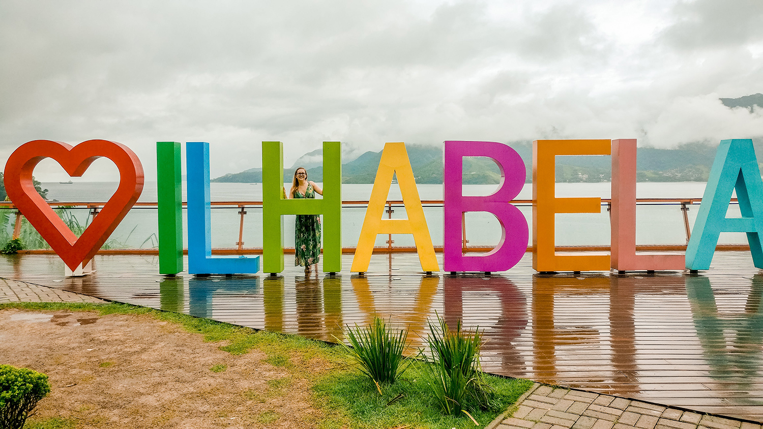 "Mirante do Piúva, the ""I love Ilhabela"" viewpoint - Ilhabela travel guide - what to do and where to go 