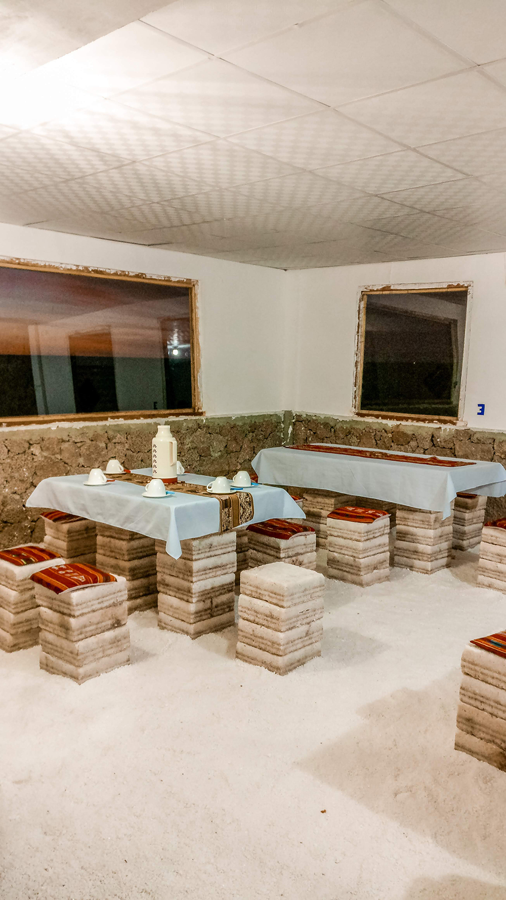 Salty hostel in Colchani - How to pick the best Uyuni Salt Flats tour to Bolivia?   Aliz's Wonderland