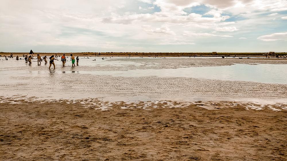 The salty Laguna Piedra at Laguna Cejar - How to plan your perfect trip to San Pedro de Atacama, Chile? | Aliz's Wonderland