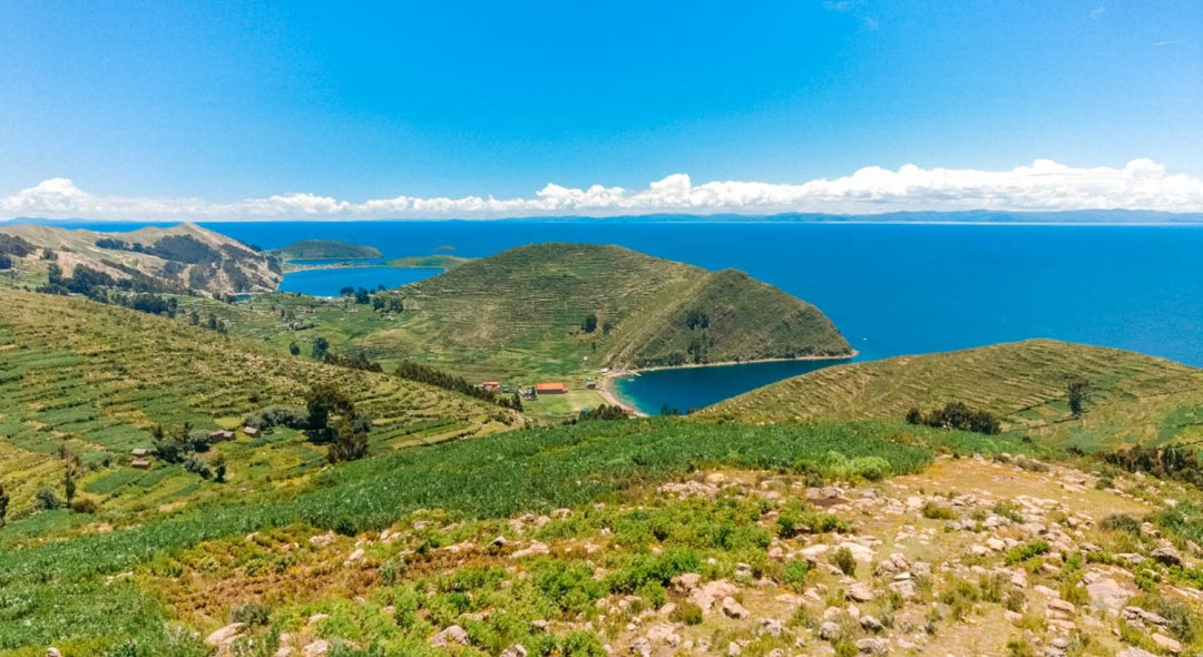 Viewpoint of Cerro Palla Kasha - A day trip to Isla del Sol, Bolivia | Aliz's Wonderland