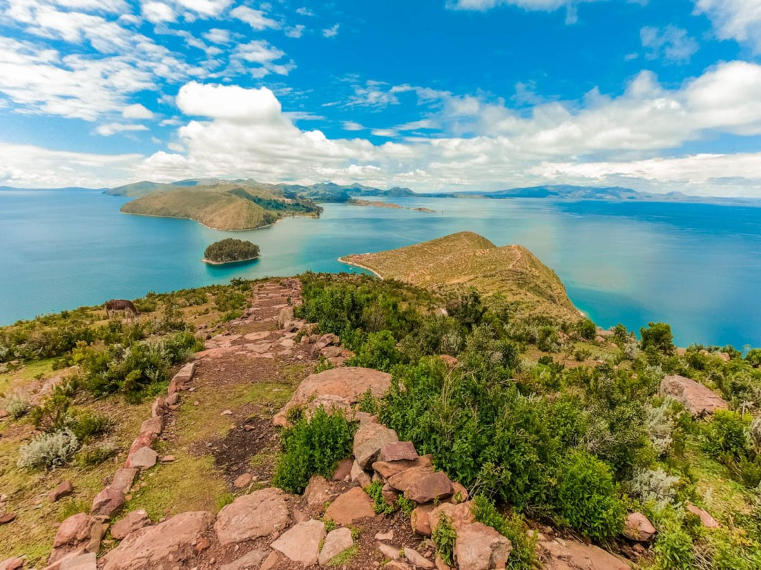 Viewpoint of Cerro Queñuani - A day trip to Isla del Sol, Bolivia | Aliz's Wonderland