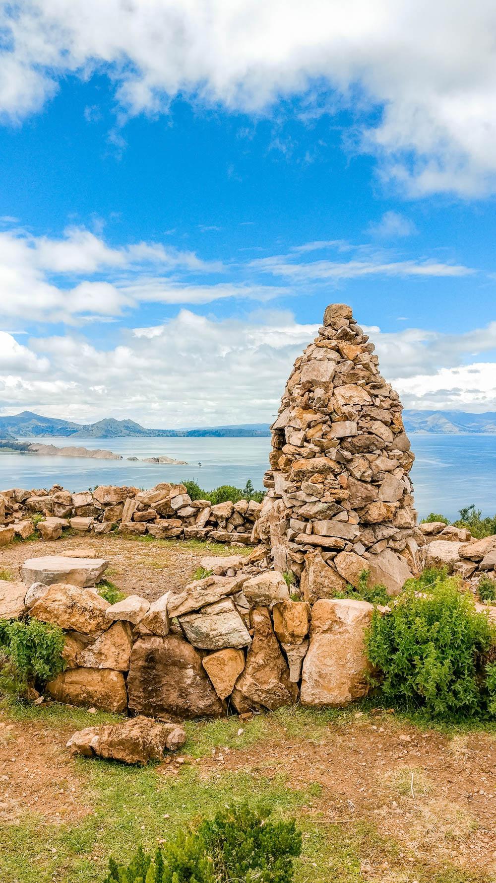 Viewpoint of Cerro Queñuani - A day trip to Isla del Sol, Bolivia   Aliz's Wonderland
