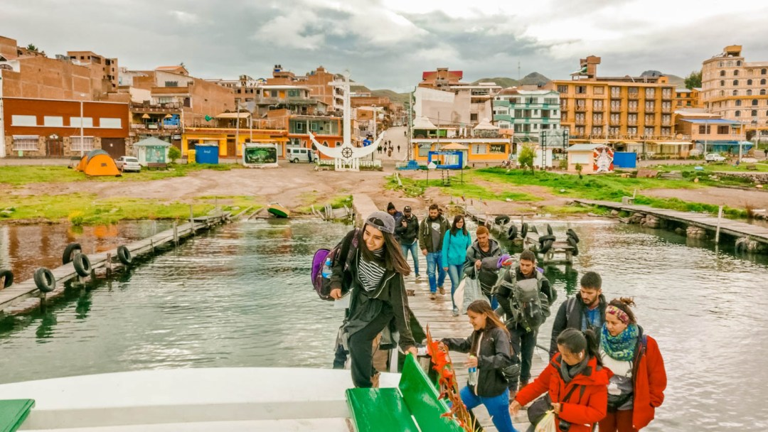 Going to Isla del Sol by boat from Copacabana - How to get to Isla del Sol? - A day trip to Isla del Sol, Bolivia | Aliz's Wonderland