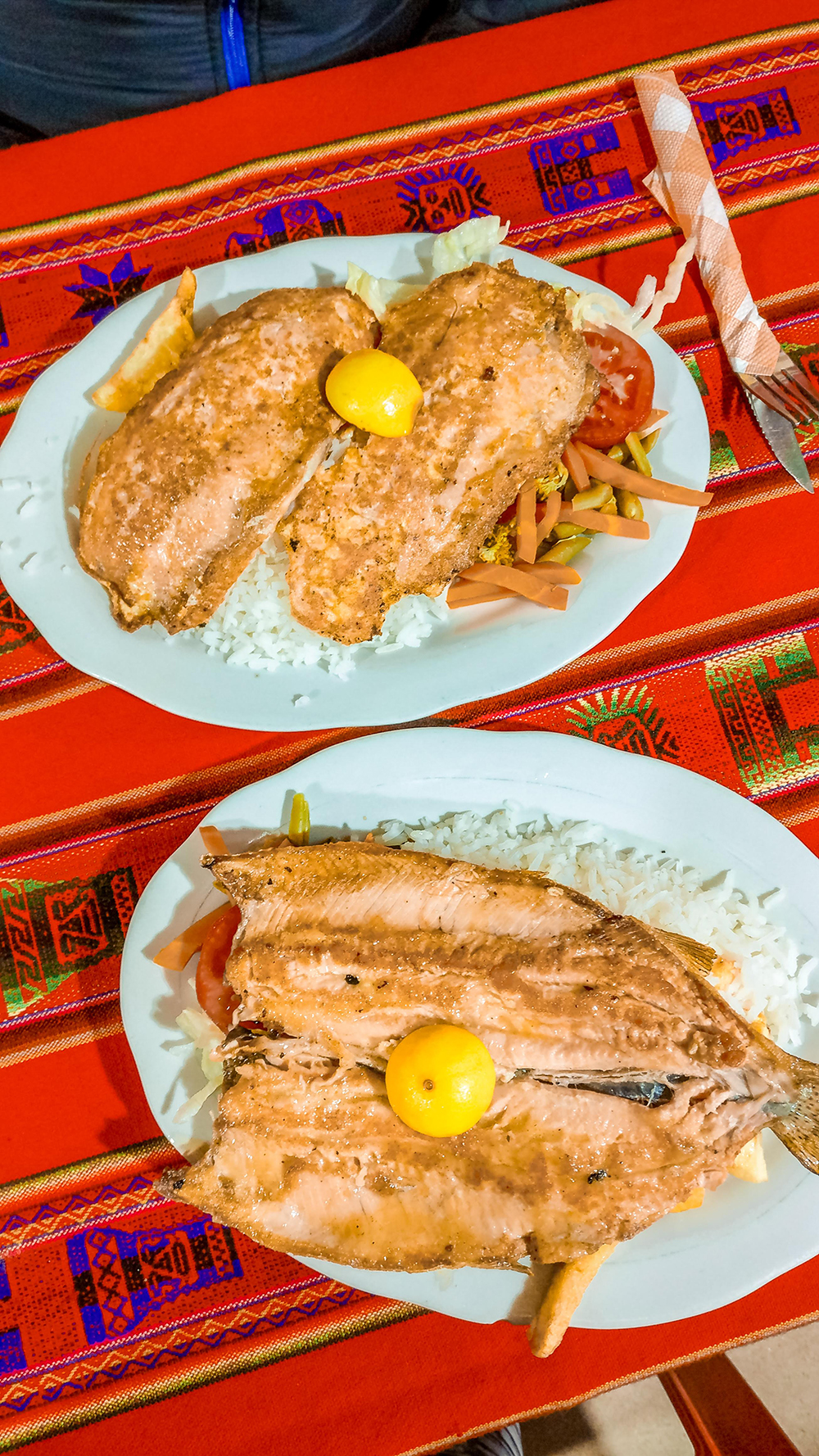 Eat local trout, the must-try food of Copacabana - 6 reasons to add Copacabana and Lake Titicaca to your Bolivian itinerary | Aliz's Wonderland