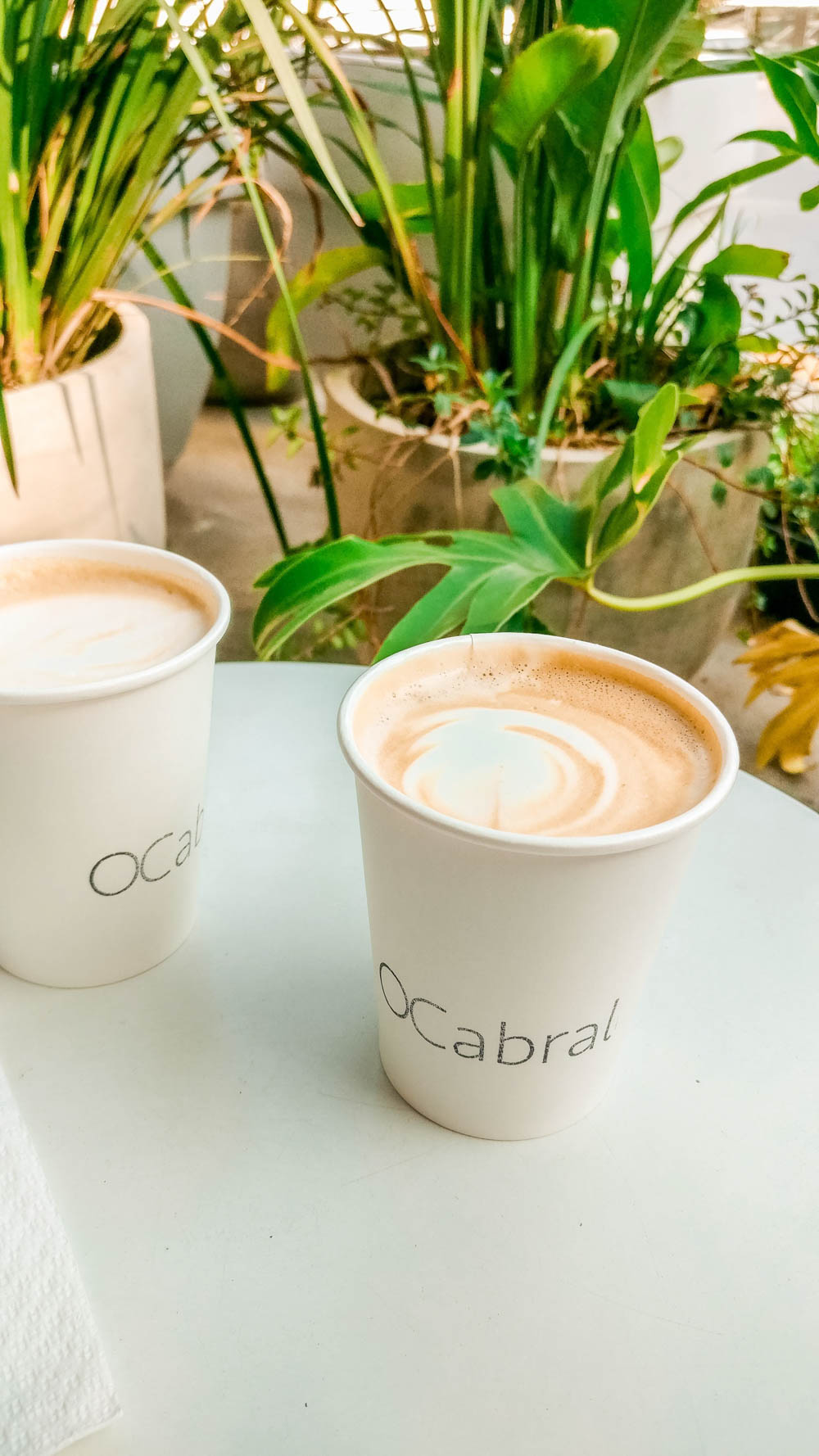 Flat white at OCabral Café - Specialty coffee shop guide to São Paulo, Brazil | Aliz's Wonderland