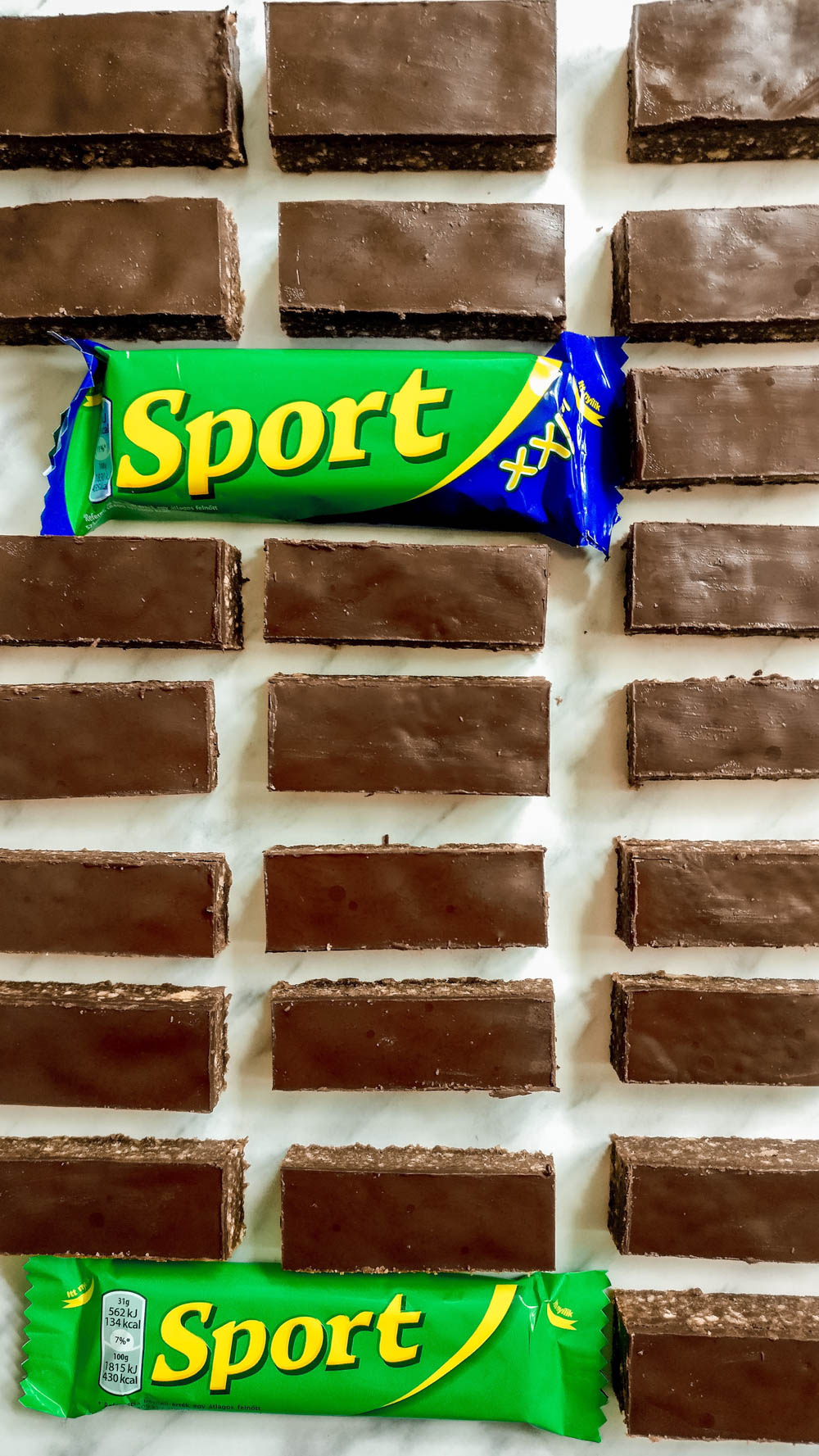 Sport szelet, the Hungarian chocolate bar recipe | Aliz's Wonderland
