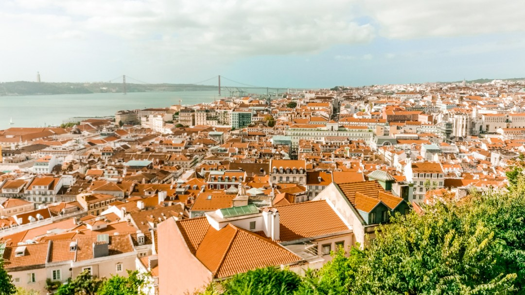 Panorama from Castelo de S. Jorge - Visit Lisbon's best viewpoints - 5 things you need to experience in Lisbon, Portugal | Aliz's Wonderland