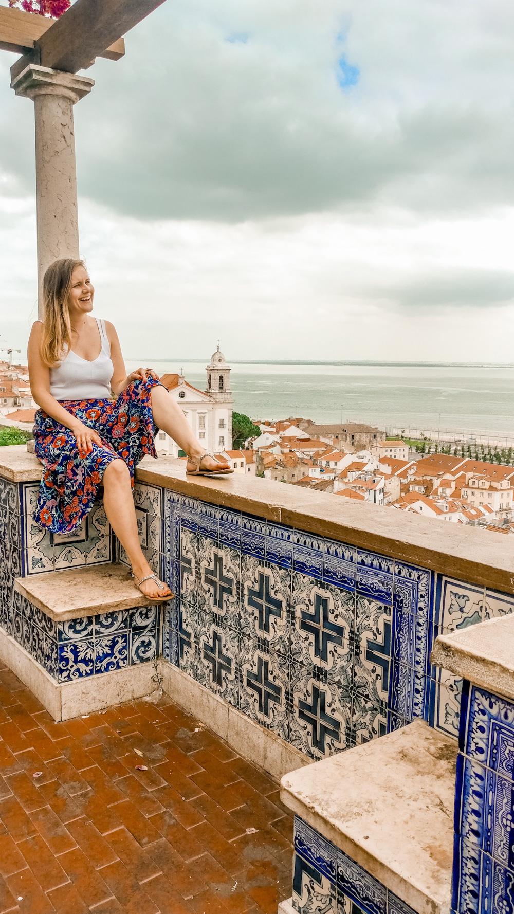 Miradouro de Santa Luzia - Visit Lisbon's best viewpoints - 5 things you need to experience in Lisbon, Portugal | Aliz's Wonderland