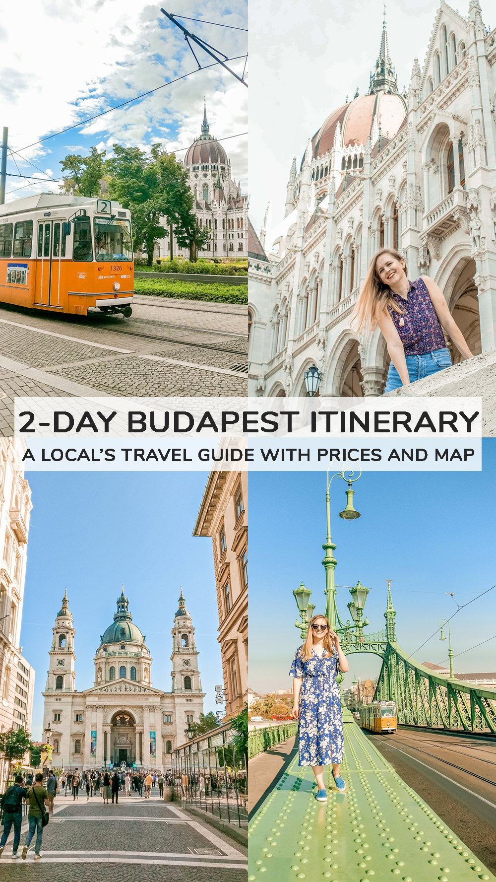 2-day Budapest travel itinerary - a local's travel guide with prices and map | Aliz's Wonderland