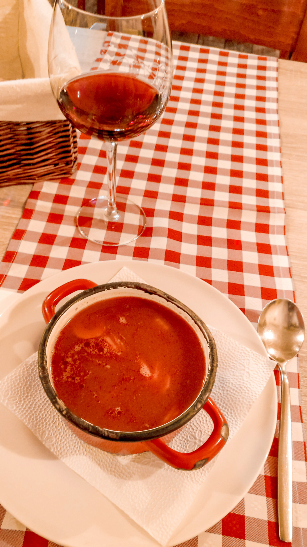 Goulash soup at Pörc & Prézli restaurant - How to explore Budapest in 2 days? - a local's travel guide with prices and map   Aliz's Wonderland