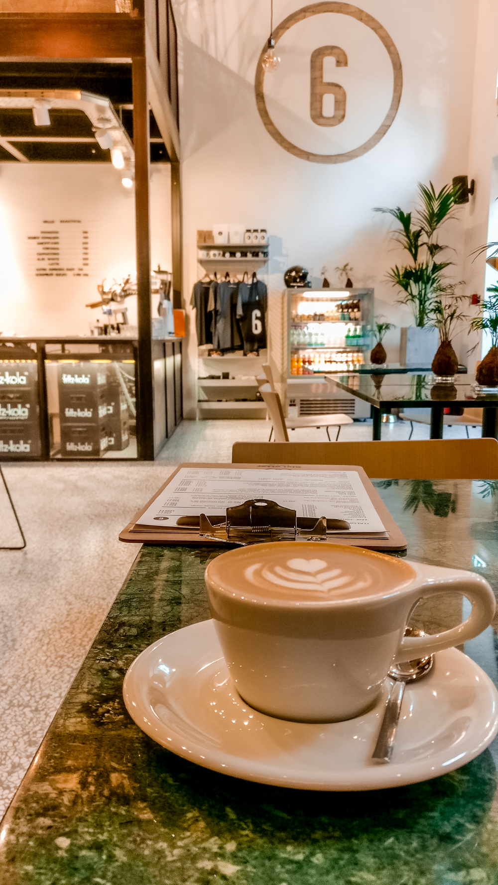 Flat white at SixLetter Coffee Co. - 10 must-visit stylish specialty coffee shops in Budapest, Hungary   Aliz's Wonderland