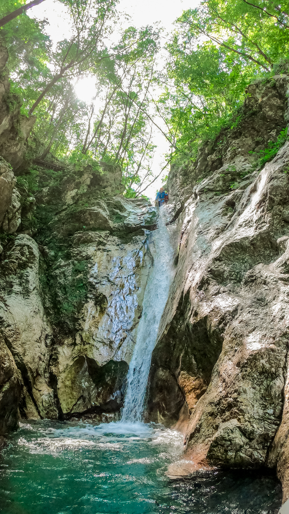 Canyoning Susec - Must-try adventures and activities in Bovec and Soca valley, Slovenia - Canyoning, rafting and zipline | Aliz's Wonderland
