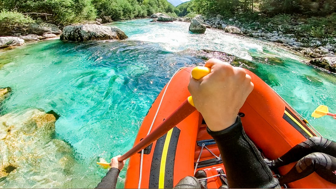 Rafting on the Soca river - Must-try adventures and activities in Bovec and Soca valley, Slovenia - Canyoning, rafting and zipline | Aliz's Wonderland