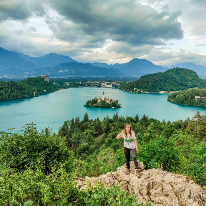 4-day Slovenia travel itinerary for the best outdoor adventures | Aliz's Wonderland #travel #Slovenia #Bled #extremesport #Socavalley