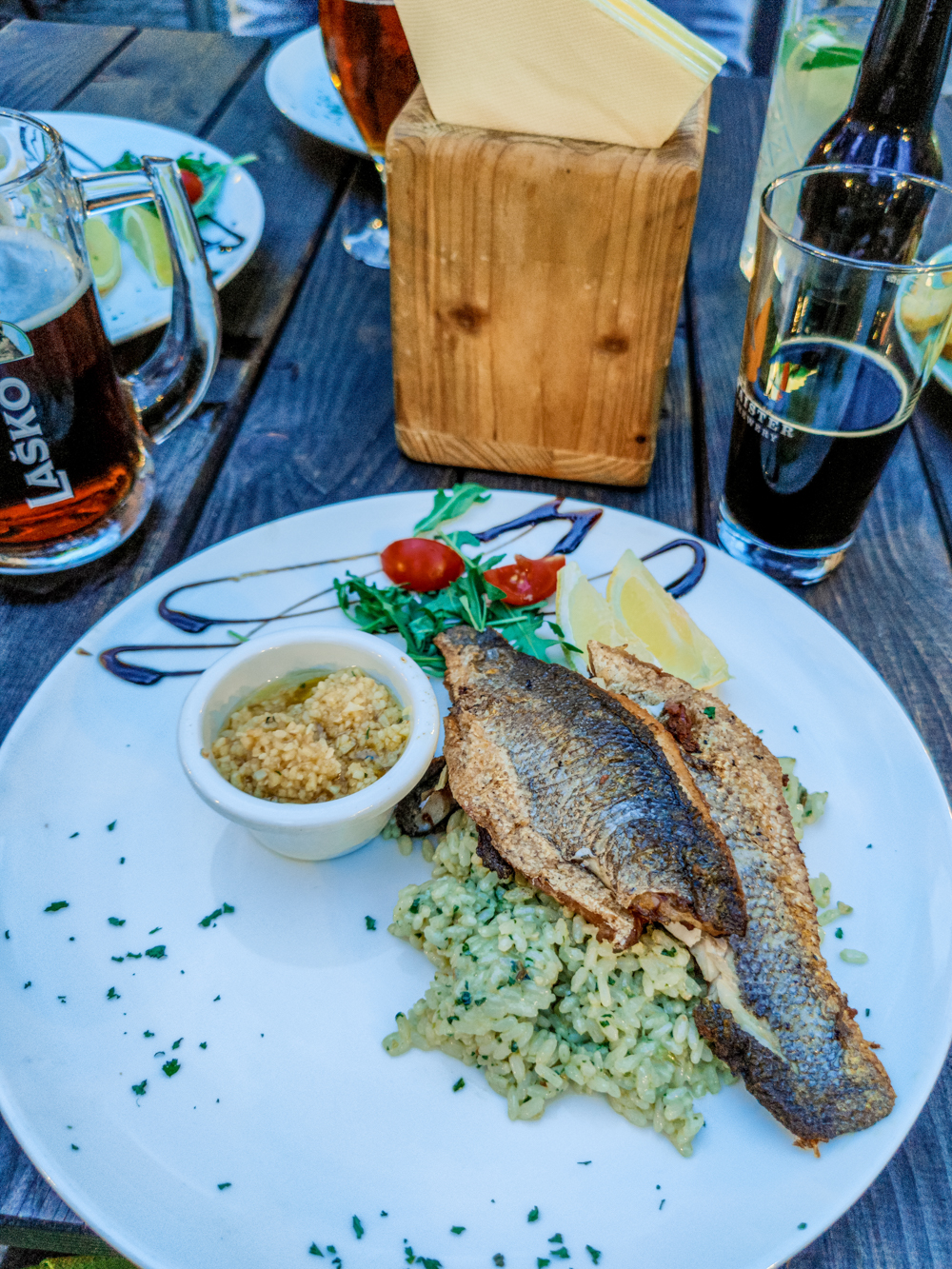 Where to eat in Bled? - Restavracija Camping Bled - 4-day Slovenia travel itinerary for the best outdoor adventures | Aliz's Wonderland