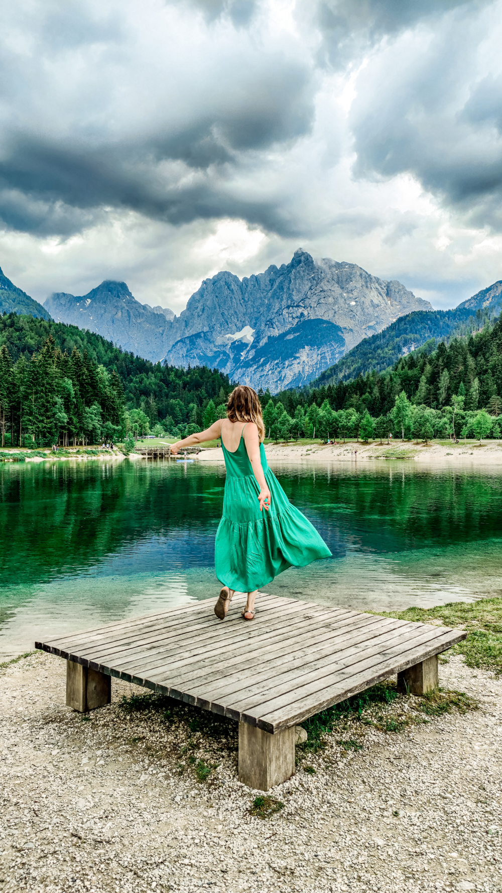 Lake Jasna - 4-day Slovenia travel itinerary for the best outdoor adventures | Aliz's Wonderland