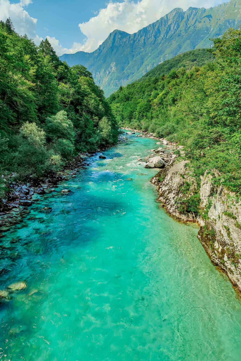 Soča river - 4-day Slovenia travel itinerary for the best outdoor adventures | Aliz's Wonderland