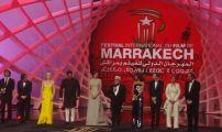 """افتتا ح المهرجان الدولي للفيلم بمراكش بتكريم الممثلة """" شارون ستون"""" من الولايات المتحدة الأمريكية."""