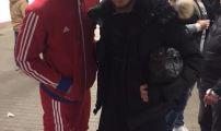 لاعب باير لفركوزن ياسين خضراوي يلتقي بلاعب بايرن ميونيخ والفريق الوطني المغربي المهدي بنعطية