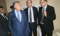 وزير السكنى وسياسة المدينة و رئيس مجموعة العمران  في زيارة ميدانية للمدينة الجديدة لخيايطة