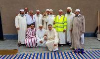 أجواء عيد الفطر بمسجد هوبوكن أنفرس 2017-1438