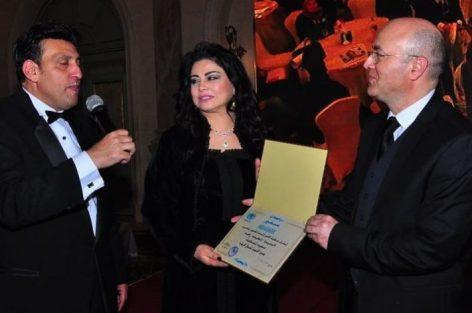 أحداث فنية تنصيب لطيفة رأفت سفيرة لمنظمة الأمم المتحدة للفنون
