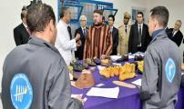 جلالة الملك يدشن مركز التكوين المهني بالسجن المحلي العرجات 1