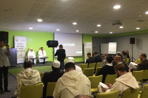"""المجلس الأوروبي للعلماء المغاربة ينظم دورة تكوينية للأئمة و المرشدات تحت شعار:"""" تنمية مهارات الخطابة لدى الإمام: فنون التواصل نموذجا""""."""