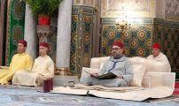 أمير المؤمنين الملك محمد السادس يترأس بمسجد حسان بالرباط حفلا دينيا كبيرا إحياء لليلة القدر المباركة.