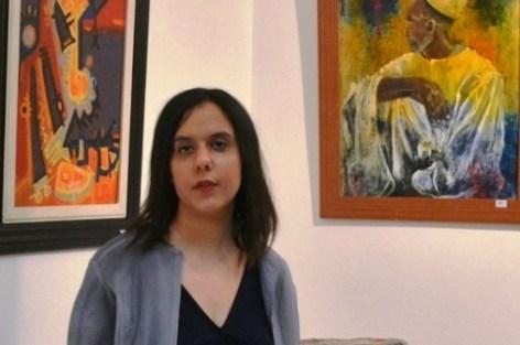 الفنانة لينا السباعي تجربتي التشكيلية رسالة حلم بلغة الواقع
