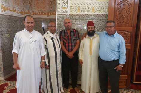 إفتتاح صرح ديني كبير بدوار إشحشوحن جماعة أربعاء تروكوت إقليم الدريوش.
