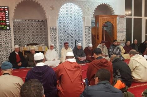حفل بمسجد حمزة ببروكسيل بمناسبة ذكرى المولد النبوي الشريف.