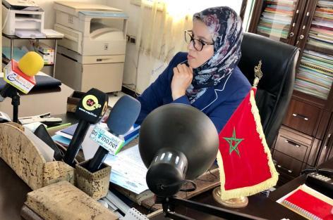 الناظور: المديرة الإقليمية بالناظور تدعو الجميع للانخراط لدعم المدرسة المغربية
