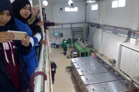 أطر و تلاميذ ثانوية سيدي بوصبر ينخرطون في مشروع قافلة العلوم بخرجة دراسية علمية