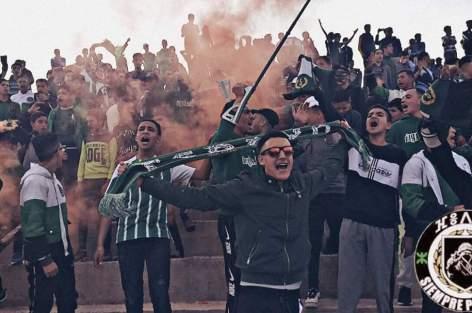 التراس فيداين تعبر عن دعمها القوي واللامشروط  لفريق هلال الناظور لكرة القدم عبر صفحتها الرسمية