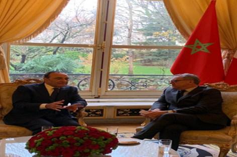 الحبيب المالكي يتباحث بباريس مع رئيس الجمعية الوطنية الفرنسية